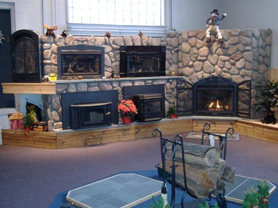 Gas, wood, coal, pellet, stove fireplace dealer install ...