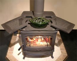 Wood Coal Hot Air Furnaces Adirondack Stoves Heat